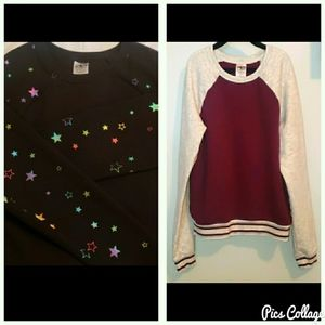 Set of 2 Girls sweatshirts
